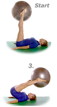 Thumb - Corkscrew with Sissel Exercise Ball