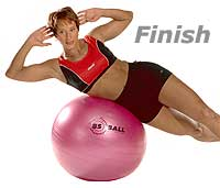 Image 2 - Lateral Flexion on Sissel Exercise Ball