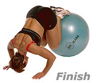 Image 2 - Prone Knee Pull-Ins on Sissel Exercise Ball