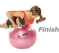 Image 2 - Prone Rowing with Sissel Exercise Ball