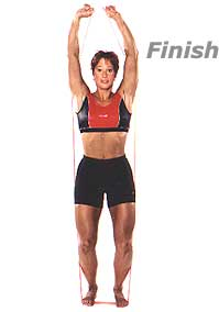Image 2 - Standing Shoulder Press with Fitband
