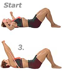 Supine Mobility Flyes with Fitband