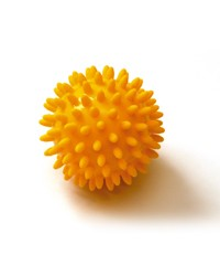 Image SISSEL® SPIKY BALL, yellow (8 cm), set of 2
