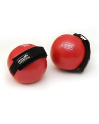 Image SISSEL® Fitness Toning Ball, red, approx. 1,000 g, set of 2
