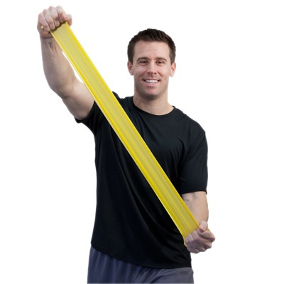Image Sup-R Band® Latex Free Exercise Band - 6 yard roll - Yellow - x-light