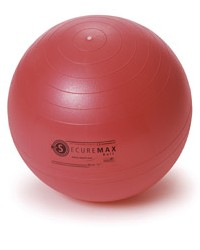 Image SISSEL® Securemax® Exercise Ball, 65 cm, red