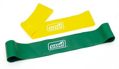 Sissel 174 Fit Tube Yellow Light Incl Exercise Manual