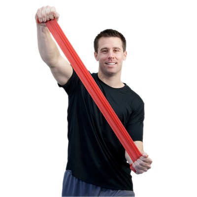 Image Sup-R Band® Latex Free Exercise Band - 6 yard roll - Red - light