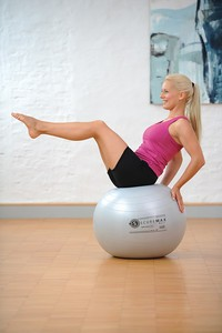 Image Securemax® Exercise Ball - 75 cm (silver)